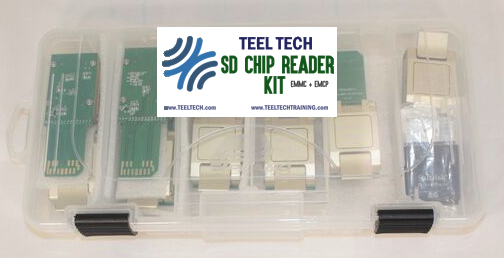 SD Chip Kit in Case
