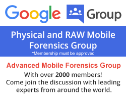Mobile Forensics Group