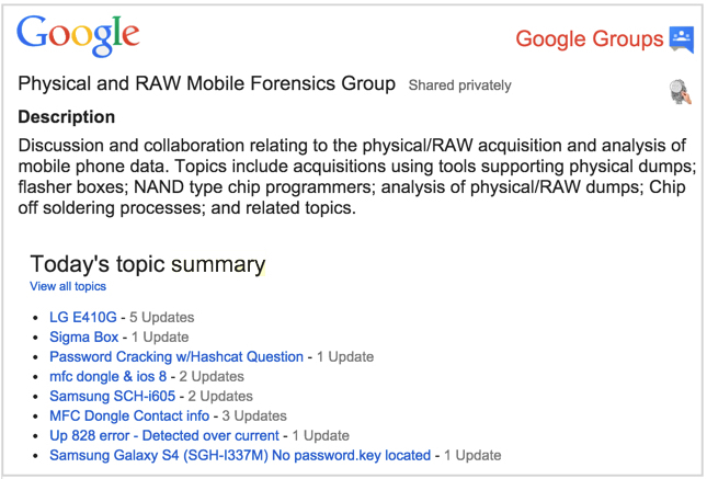 PRAW-google-group